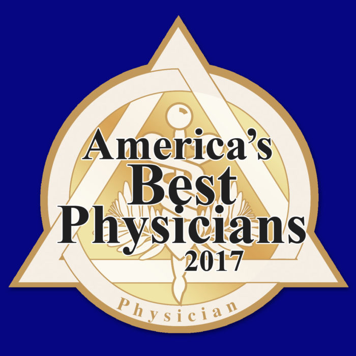 Dr. Wiles is one of America's Best Physicians in 2017